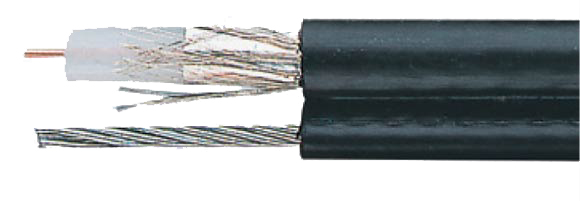 CATV-Cables with Aluminum or Copper foil and braiding, 1.1 / 7.3 ALG-T, Coaxial, Video & Loudspeaker Cables, RoHS Approved, RoHS Compliant, Hi-Tech Controls,