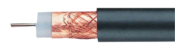 CATV-Cables with Aluminum or Copper foil and braiding, 1.8 / 11.5 FG, Coaxial, Video & Loudspeaker Cables, RoHS Approved, RoHS Compliant, Hi-Tech Controls,