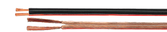 Loudspeaker Cables, black-red, Coaxial, Video & Loudspeaker Cables, RoHS Approved, RoHS Compliant, Hi-Tech Controls,