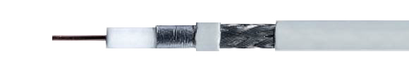 SAT-Coaxial Cables, for digital-tv, shielding efficiency < 90 dB / > 95 dB, for satellite receivers, double shielded, 1.1 / 5.0 FRNC, Coaxial, Video & Loudspeaker Cables, RoHS Approved, RoHS Compliant, Hi-Tech Controls,