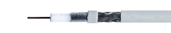 SAT-Coaxial Cables, for digital-tv, shielding efficiency < 90 dB / > 95 dB, for satellite receivers, double shielded, 1.1 / 5.0, Coaxial, Video & Loudspeaker Cables, RoHS Approved, RoHS Compliant, Hi-Tech Controls,