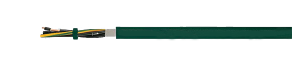 Hi-Tech Controls, , European  , BIOFLEX-500�-JZ-HF, Abrasion Resistant, Cable for Drag Chain, Recyclable Environment Friendly, Bio-Oil Resistant, Cable against biologically decomposable oils, Bio-Oil Resistant