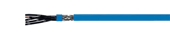 Hi-Tech Controls, Helukabel, HELUKABEL OZ-BL-CY, EMC (EMI Preferred Type), Blue Outer Jacket, Intrinsic Safety, Flexible, Intrinsically Safe Cable, EMI Preferred Type