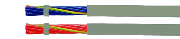 Hi-Tech Controls,  - JZ-602-PUR DC/AC, blue or red conductors, 80°C, 600V, Two Approvals PUR Control Cable