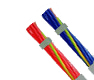 Hi-Tech Controls, Helukabel - JZ-602-PUR DC/AC, blue or red conductors, 80°C, 600V, Two Approvals PUR Control Cable