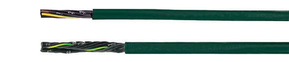 Hi-Tech Controls, , European   MULTISPEED 500-PVC UL/CSA, Safety against high bending in drag chain system, Low Torsion, Highly Flexible, UL-CSA Approved, Control Cable