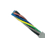 Hi-Tech Controls, , JB-500, Color Coded, Flexible, RoHS Compliant, Special PVC Control Cable