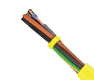 Hi-Tech Controls,  - JB-750 Yellow, 750V, Flexible, Color coded, Control connection cable for warning indication, Control Cable