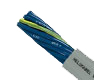 Hi-Tech Controls, Helukabel - JZ-500, Blue Conductors, Flexible, Number coded, Special PVC Control Cable