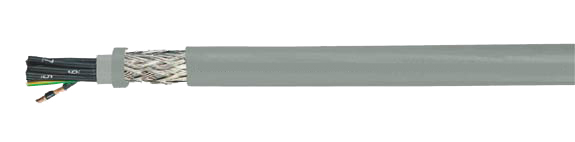 - H05VVC4V5-K (NYSLYCYÖ-JZ), Shielded, Flexible, Number Coded, VDE Approved, EMI Preferred Type, VDE, HAR, Hi-Tech Controls