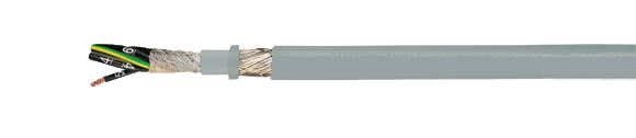 Hi-Tech Controls,  - JZ-HF-CY, High Flexible, Cable for Drag Chain, Control Cable for Drag Chain, Number Coded, EMC(EMI Preferred Type), Control Cable