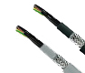 Hi-Tech Controls, Helukabel, JZ-600-Y-CY UL/CSA, Special PVC Control Cables, EMC (EMI Perferred Type), Number Coded, Flexible 0,6/1 kV, RoHS Approved, RoHS Compliant, Grey and Black Jackets