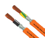 Hi-Tech Controls,  - Single 602-RC* -CY -J/-O, Cu-Shielded, EMC (EMI Preferred type), 600V, Special Single Conductor Cable for drag chain, UL, CSA Approved, 90 Degrees Celsius, Control Cable