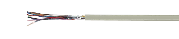 Special PVC Data Cables, PAAR-TRONIC, Flexible Shielded, Color Coded to DIN 47100, Hi-Tech Controls, , RoHS Approved, RoHS Compliant