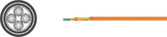 Fiber Optic Cable Flexible, Hi-Tech Controls, , RoHS Approved, RoHS Compliant