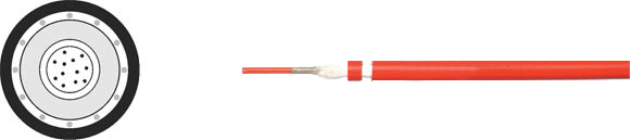 Fiber Optic Cable with Functional Integrity, Hi-Tech Controls, , RoHS Approved, RoHS Compliant