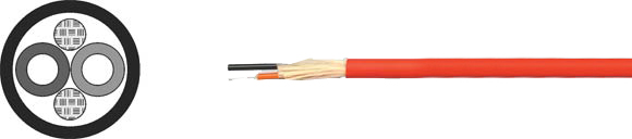 Plastic Fiber Cable Industry, POF/PA, Hi-Tech Controls, , RoHS Approved, RoHS Compliant