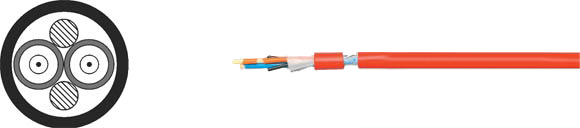 Fiber Optic Breakout Cable Industry HCS, Hi-Tech Controls, , RoHS Approved, RoHS Compliant