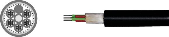 Fiber Optic Outdoor Cable, Hi-Tech Controls, , RoHS Approved, RoHS Compliant