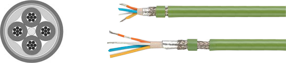 Bus Cables, Industrial Ethernet PROFInet Type B + C, Hi-Tech Controls, Helukabel, RoHS Approved, RoHS Compliant
