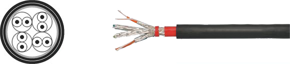 LAN Cable, 600A S-STP PVC/PVC solid outdoor, Hi-Tech Controls, , RoHS Approved, RoHS Compliant