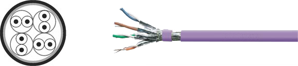 LAN Cable, 600 S-STP solid, Hi-Tech Controls, , RoHS Approved, RoHS Compliant