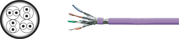 LAN Cable, 900 S-STP solid, Hi-Tech Controls, , RoHS Approved, RoHS Compliant