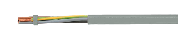 JB-750 HMH flexible control cable, colored conductor, halogen-free, extremely fire resistant, oil resistant, RoHS Compliant, RoHS Approved, Hi-Tech Controls, Helukabel, Halogen-free Security Cables