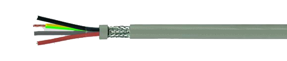 JB-500 HMH-C, flexible control cable, colored conductor, halogen-free, shielded, extremely fire resistant, oil resistant , EMI preferred type, RoHS Compliant, RoHS Approved, Hi-Tech Controls, , Halogen-free Security Cables