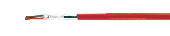 JE-H(St)H Bd Fire warning cable, FE 180/E 30 to E 90 (red), halogen-free, RoHS Compliant, RoHS Approved, Hi-Tech Controls, , Halogen-free Security Cables