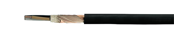 N2XCH power cable, 0.6/1 kV, halogen-free, with concentric conductor, without functionality, RoHS Compliant, RoHS Approved, Hi-Tech Controls, , Halogen-free Security Cables