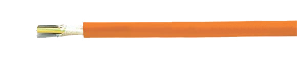 NHXH-FE 180/E 30 security cable, halogen-free, 0.6/1 kV, with improved fire characteristics, RoHS Compliant, RoHS Approved, Hi-Tech Controls, , Halogen-free Security Cables