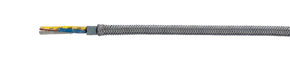 MULTITHERM® 400-ES halogen-free, high grade steel braiding, RoHS Compliant, RoHS Approved, Hi-Tech Controls, European  , Heat Resistant / Compensating Cables
