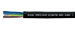 THERMFLEX 180 EWKF (H05SS-F) halogen-free, silicone multi conductor cable, RoHS Compliant, RoHS Approved, Hi-Tech Controls, , Heat Resistant / Compensating Cables