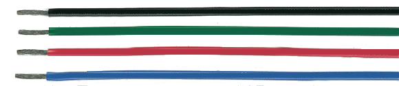UL-Style 1569, CSA TR 64 PVC single conductors, 105�C, 300V, RoHS Approved, RoHS Compliant, European  , Hi-Tech Controls