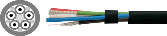Audio Cables, Digital Audio Cables, AES/EBU Digital Audio Cables, Multiparied, Pairs with Foil Shielding and Overall Foil Shielding, RoHS Approved, RoHS Compliant, Hi-Tech Controls, European