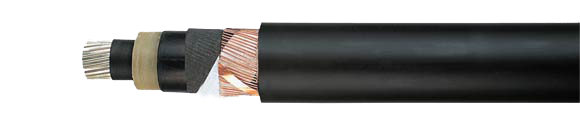 NA2XS(F)2Y, 6/10 kV, 12/20 kV, 18/30 kV, XLPE insulated, Aluminum conductor, single conductor, longitudinally water-tight, shielded, PVC jacket, RoHS compliant, Medium Voltage Power Cables, Power Cables up to 30 kV, Hi-Tech Controls, European