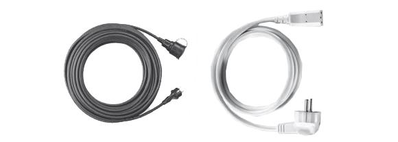Extensions / Supply Cables, CEE-Extensions / Cold Equipment / PVC-Extensions, Pre-assembled Cables, Hi-Tech Controls, European