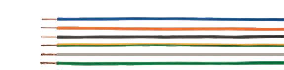 H05G-U / -K / H07G-U / -R / -K single conductors, rubber jacket, Hi-Tech Controls, European