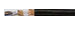 Light Marine Telecommunication Cable LFMGSSGO halogen-free, 2x copper shielded, Ship Wiring & Marine Cables, Hi-Tech Controls,