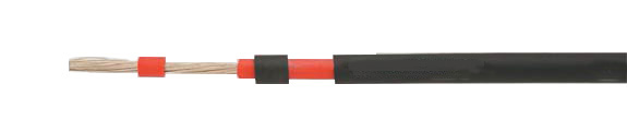 Special Cables: SOLARFLEX 110 Thinline-Double insulated, 0.6/1 kV, UV-resistant, halogen-free, VDE and TÜV certified