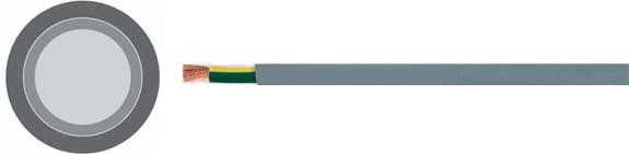 Special Cables, TOPFLEX® 303 X07V-K-YÖ, Double insulation, 0.6/1 kV, Flexible PVC single conductor, oil resistant, Hi-Tech Controls, European