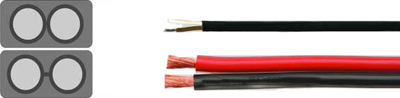 Special Cables, Truck Cables, HELUTRUCK® 272 / 273 Flat cable for the sideways lighting with GGVS-authorization, Battery cable, Battery charging cable, RoHS Approved, RoHS Compliant, European  , Hi-Tech Controls