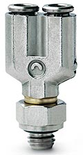 6452 - Micro Fitting - Swivel Y