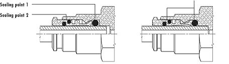 Dual Seal Fittings Series 8000