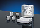 D 9140 - Polystyrene Indoor Enclosures w/ Metric Knockouts